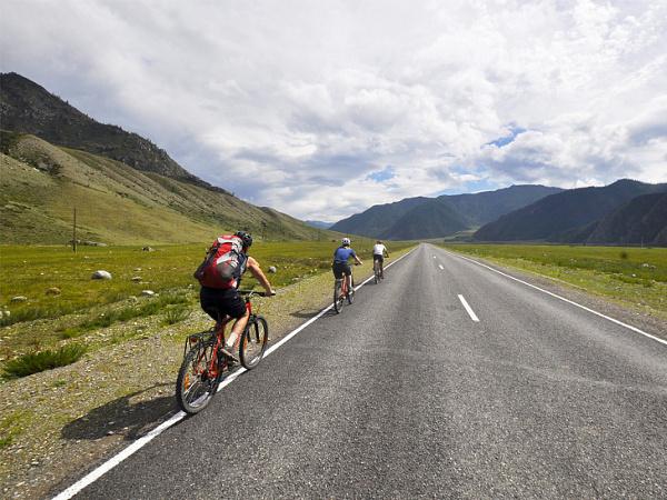 Фотогалерея: Алтайскими велотропами. 2020г.