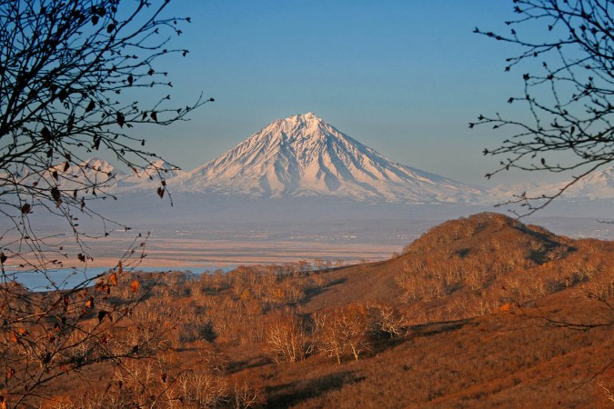 Фотогалерея: На Извержения вулканов Шивелуч и Толбачик. 2017г.
