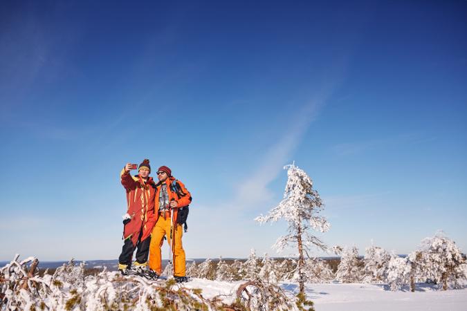 Фотогалерея: Зимнее сафари к горе Воттоваара 2021