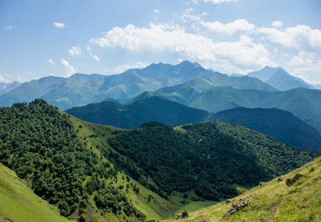 Фотогалерея: Величие Ингушских гор. 2020г.