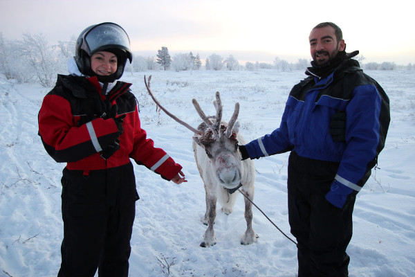Фотогалерея: Саамские каникулы на снегоходах. 2018 г.