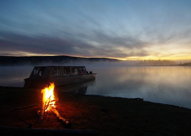 Фотогалерея: В затерянный мир озер и водопадов плато Путорана. 2021г.