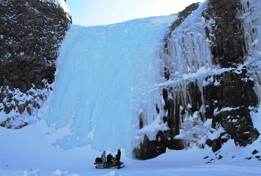 Фотогалерея: Снегоходный тур на плато Путорана. 2019г.