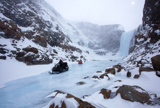 Фотогалерея: Снегоходный тур на плато Путорана. 2021г.