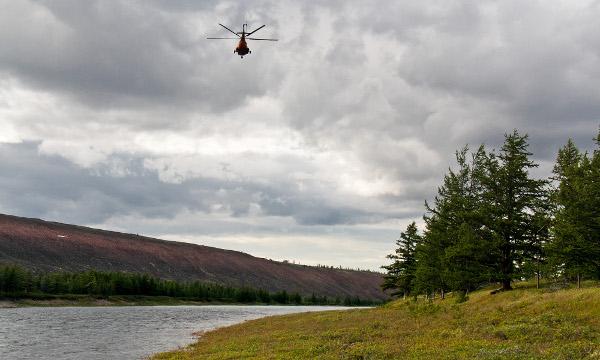 Фотогалерея: Сплав по реке Попигай. Экспедиция к метеоритному кратеру.