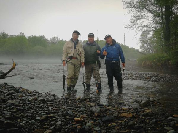Фотогалерея: Рыбалка на реке Анюй.ТАЙМЕНЬ ЛЕНОК ХАРИУС. Бюджетно.
