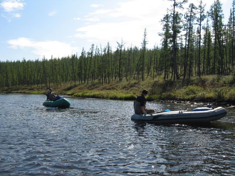 Фотогалерея: В поисках тайменя на притоках Нижней Тунгуски.