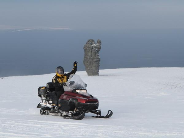 Фотогалерея: Снегоходная экспедиция на плато Маньпупунер. 2020г.