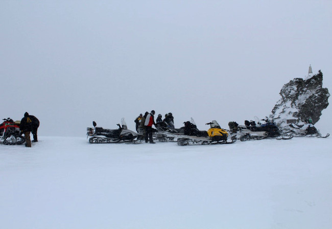 Фотогалерея: Экспедиция на снегоходах на перевал Дятлова. 2019-2020г.